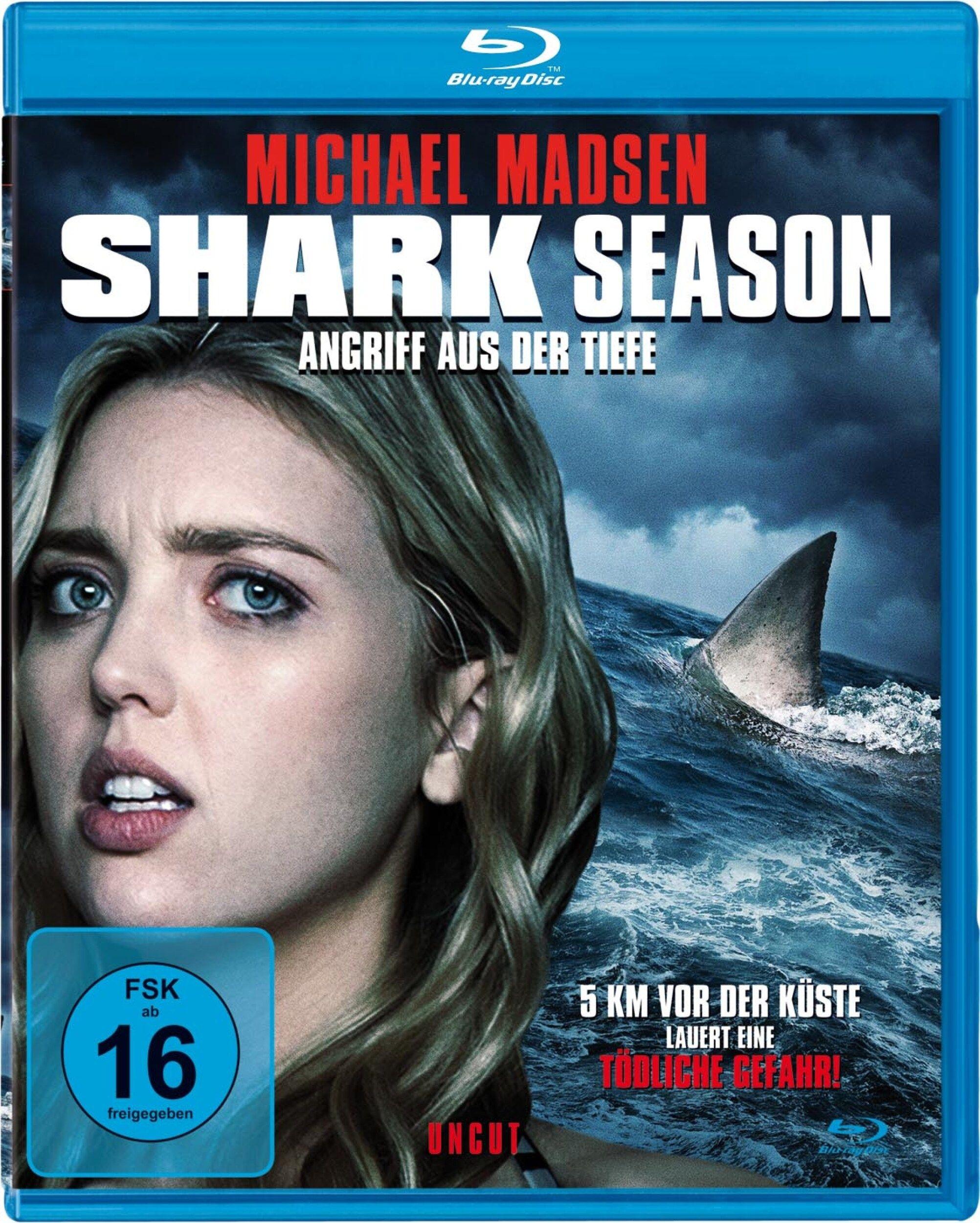 Shark Season - Angriff aus der Tiefe (BLURAY)
