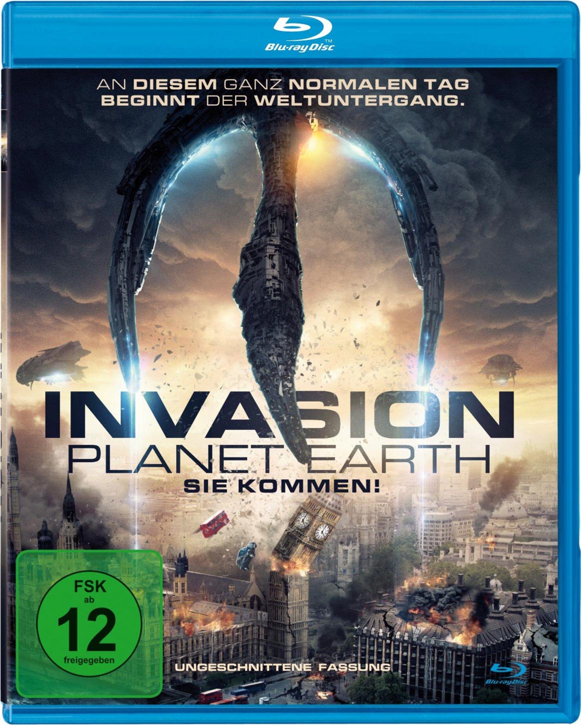 Invasion Planet Earth - Sie kommen! (BLURAY)