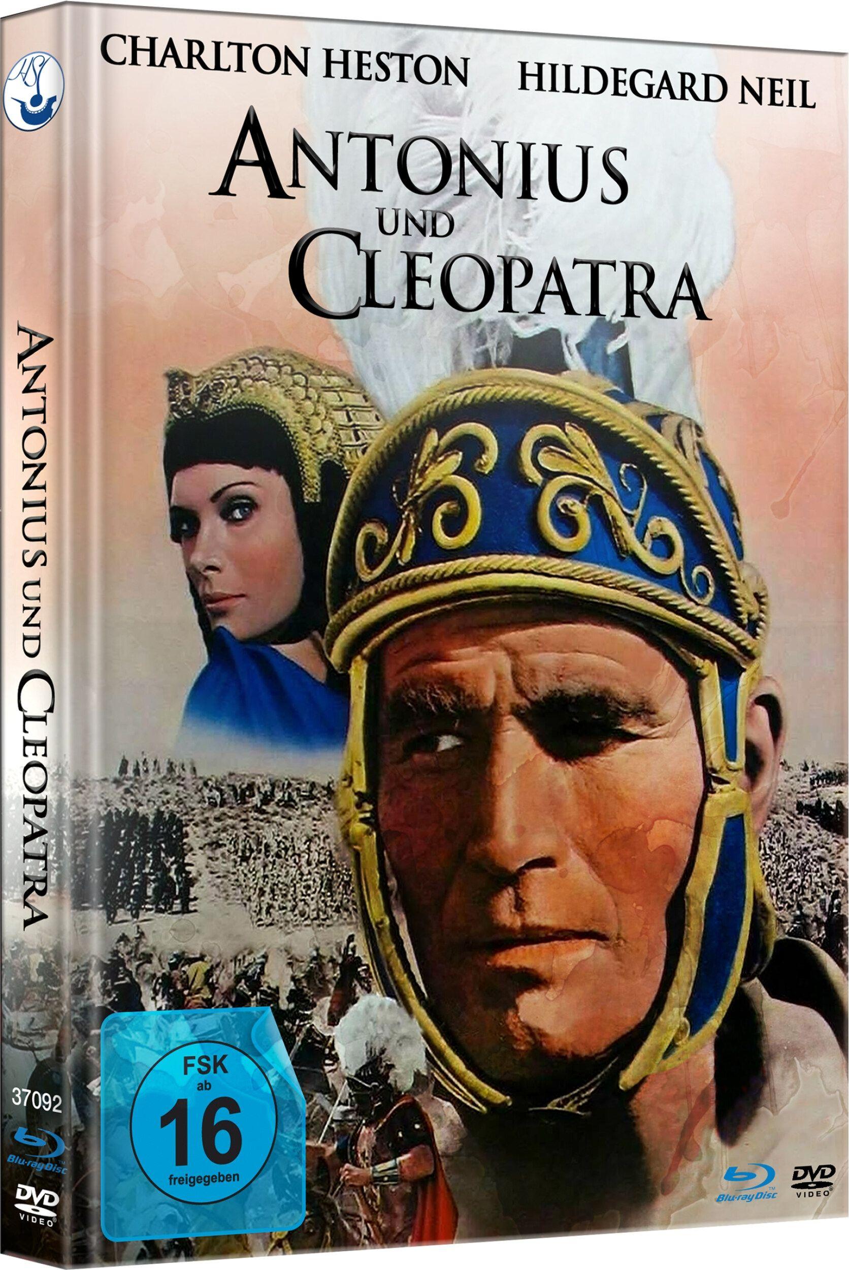 Antonius und Cleopatra (Lim. Uncut Mediabook) (DVD + BLURAY)