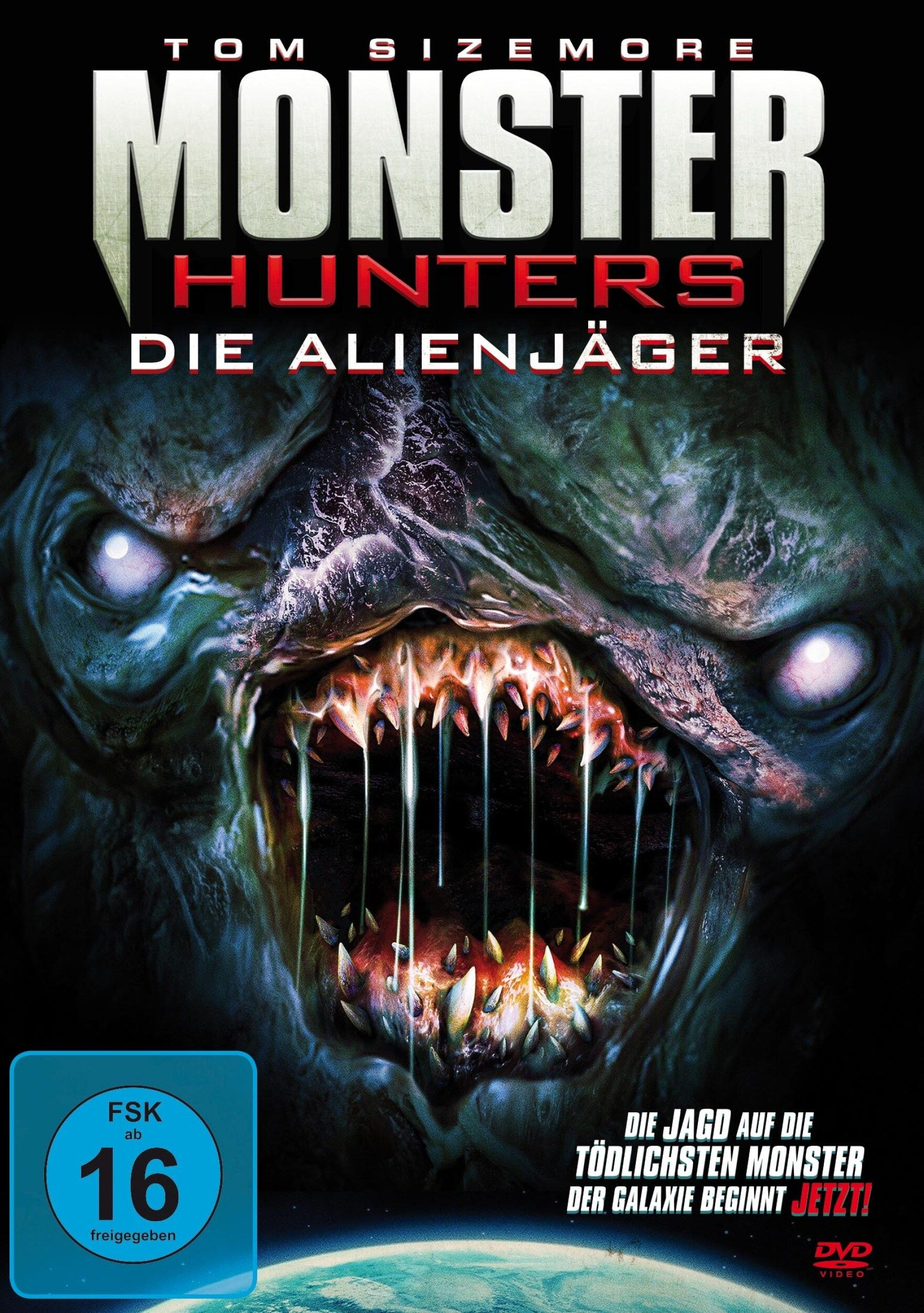 Monster Hunters - Die Alienjäger (BLURAY)