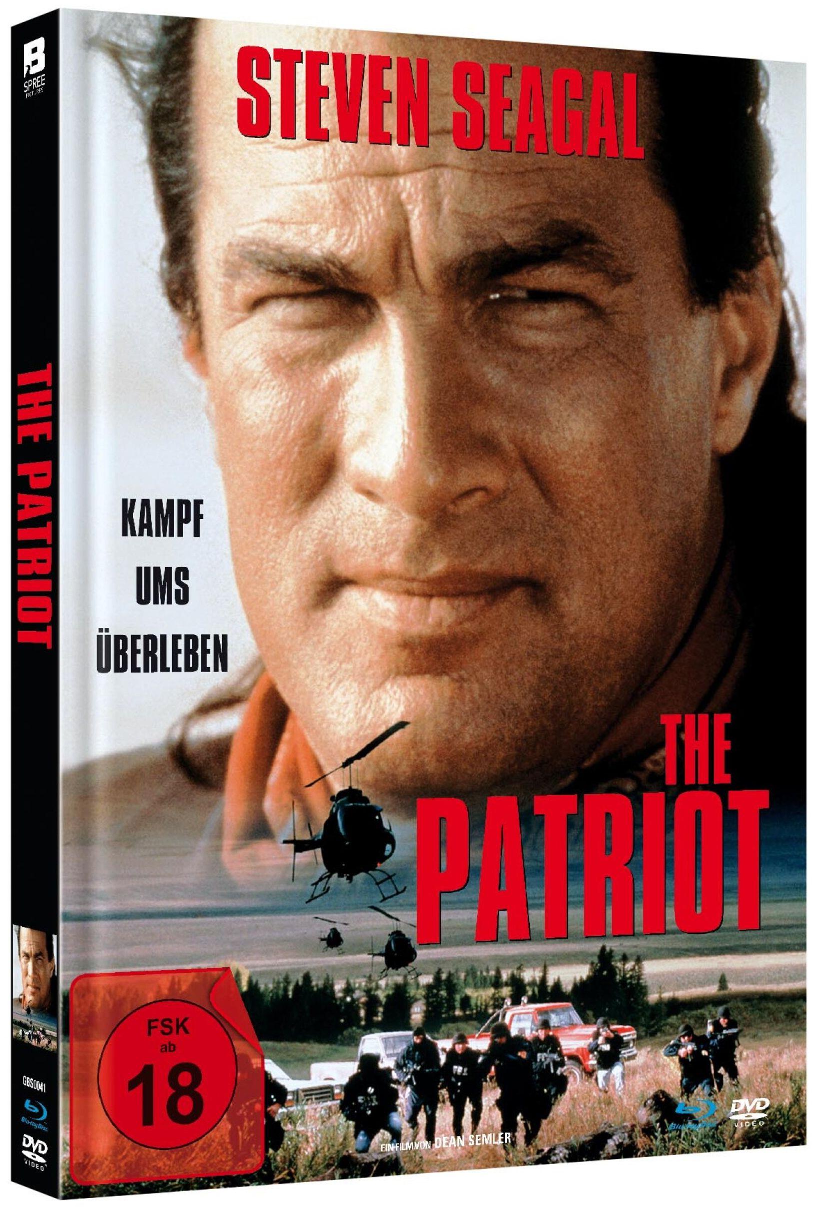 Patriot, The - Kampf ums Überleben (Lim. Uncut Mediabook) (DVD + BLURAY)