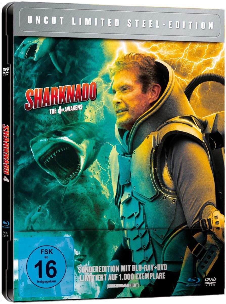 Sharknado 4 - The 4th Awakens (Lim. Metalpak) (DVD + BLURAY)