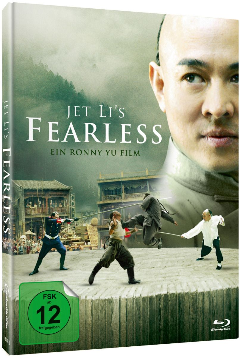 Fearless (Lim. Uncut Mediabook) (BLURAY)
