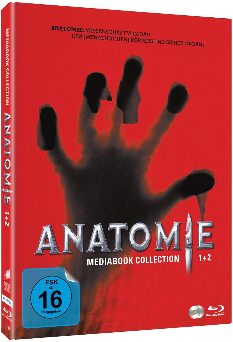 Anatomie 1+ 2 (Lim Uncut Double Feature Mediabook) (2 Discs) (BLURAY)