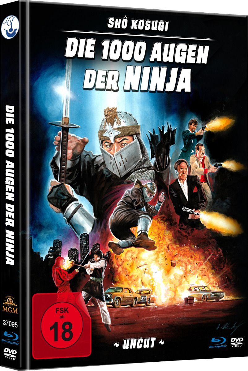 1000 Augen der Ninja, Die (Lim. Uncut Mediabook) (DVD + BLURAY)