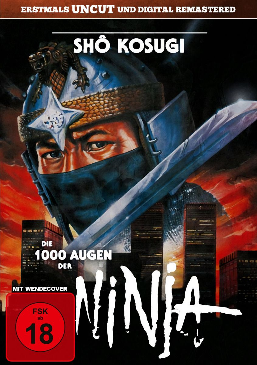 1000 Augen der Ninja, Die (Uncut)