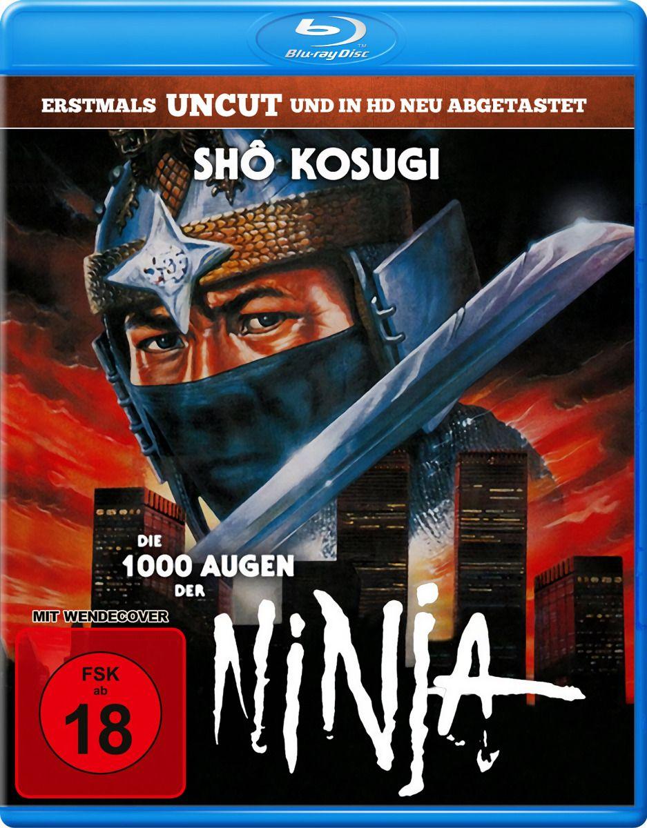 1000 Augen der Ninja, Die (Uncut) (BLURAY)