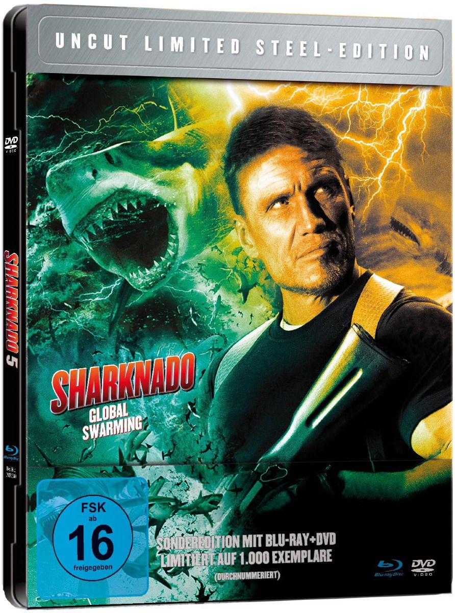 Sharknado 5 - Global Swarming (Lim. Metalpak) (DVD + BLURAY)
