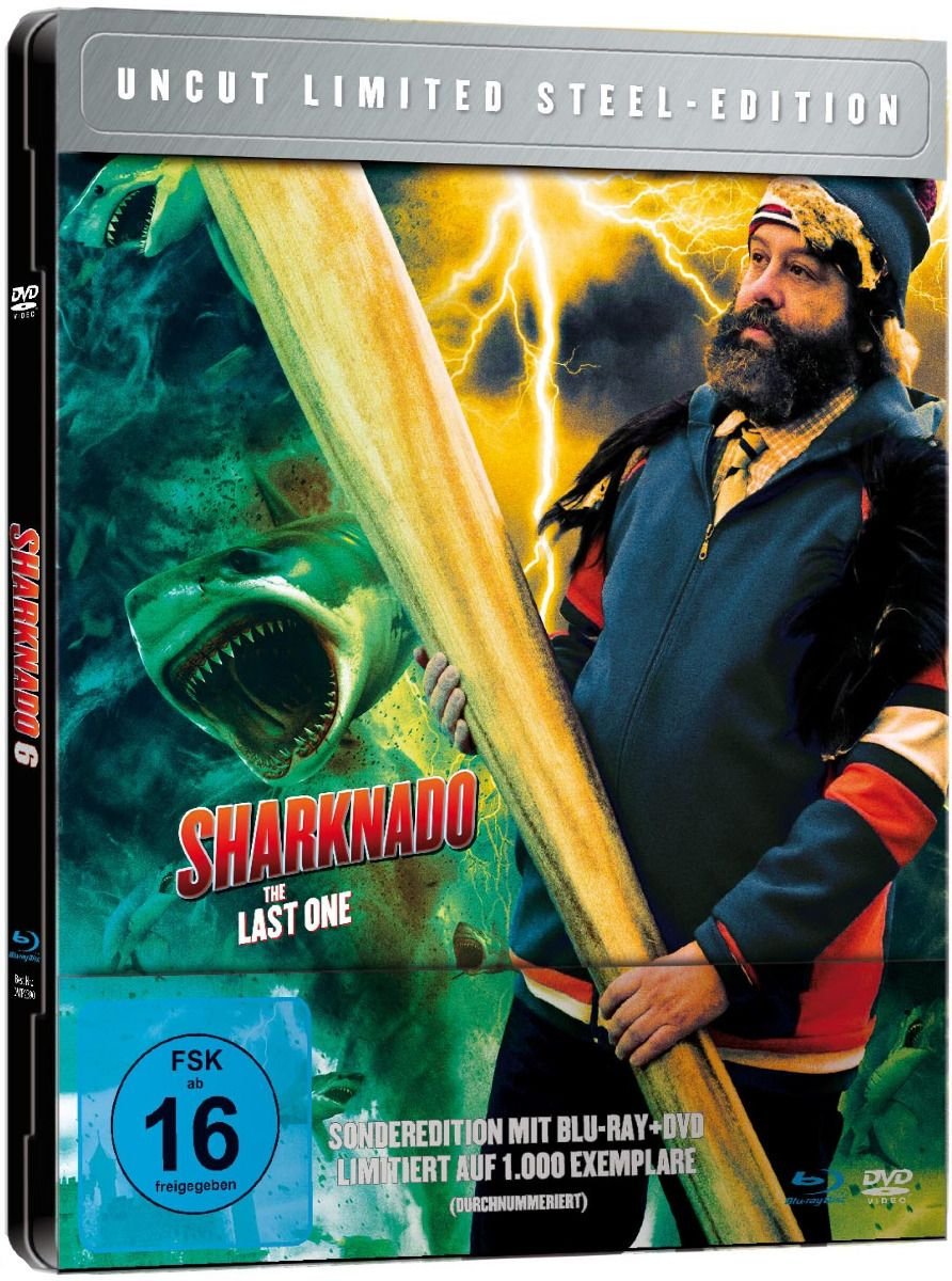 Sharknado 6 - The Last One (Lim. Metalpak) (DVD + BLURAY)
