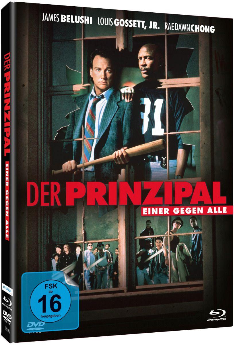 Prinzipal, Der - Einer gegen alle (Lim. Uncut Mediabook) (DVD + BLURAY)