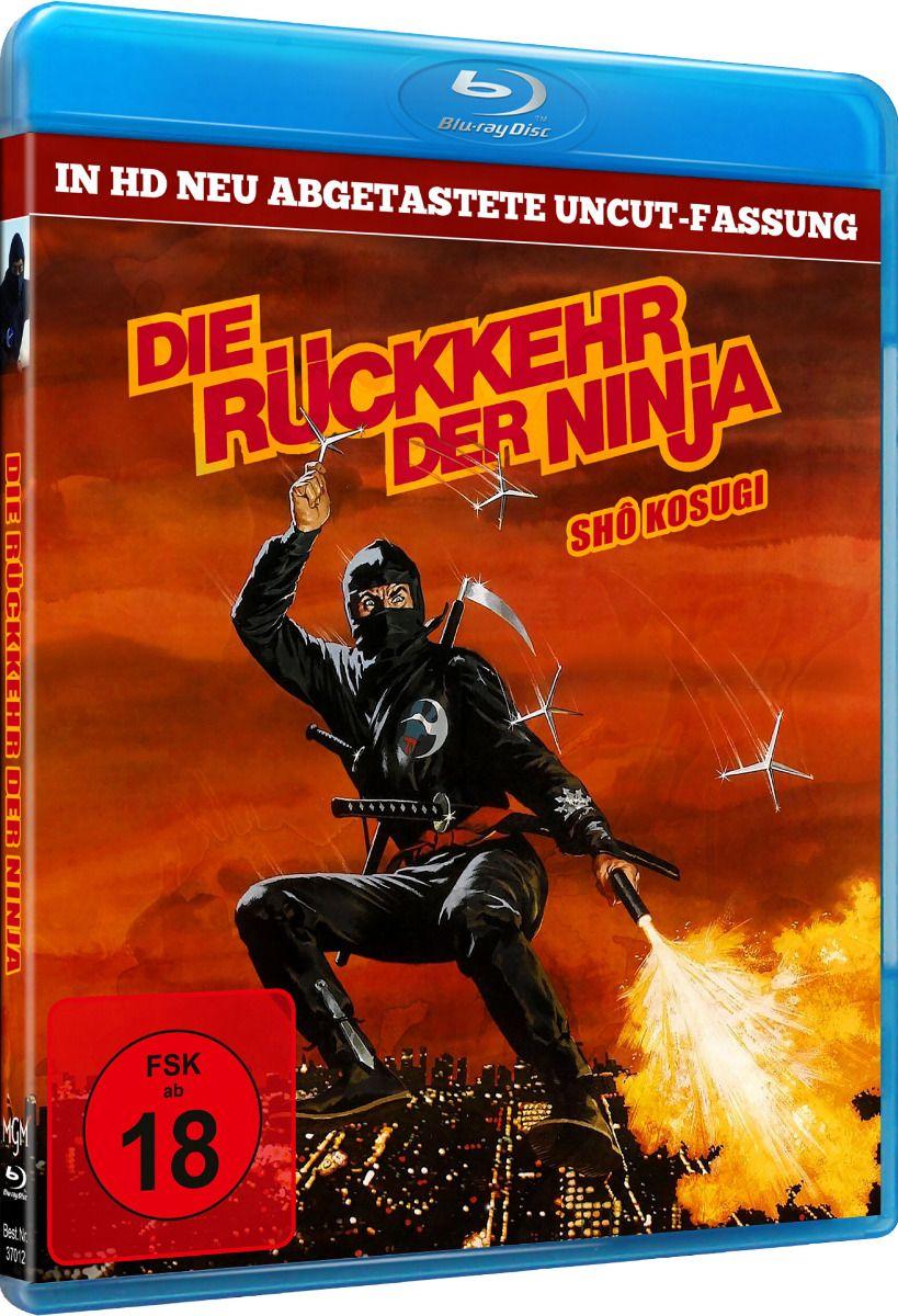 Rückkehr der Ninja, Die (Uncut) (BLURAY)