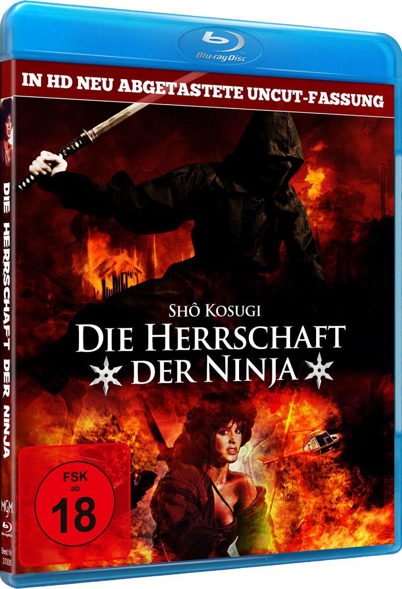 Herrschaft der Ninja, Die (Uncut) (BLURAY)