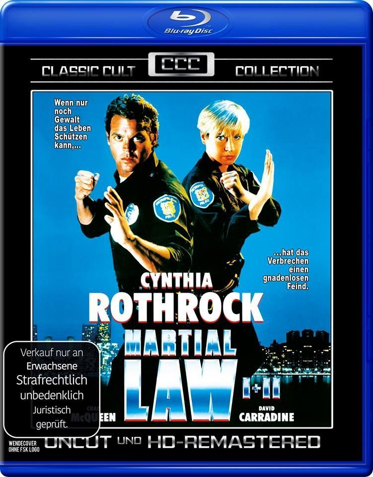 Martial Law 1+2 (Classic Cult Coll.) (BLURAY)