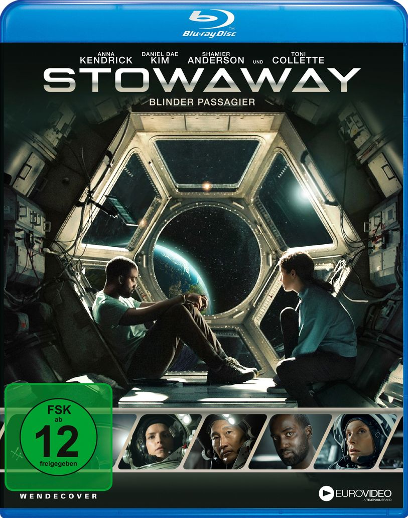 Stowaway - Blinder Passagier (BLURAY)
