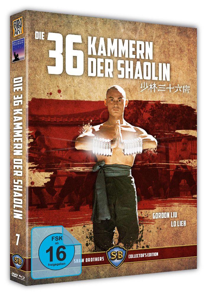 36 Kammern der Shaolin, Die (Limited Uncut Edition) (DVD + BLURAY)