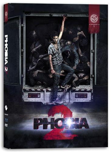 Phobia 2 (Lim. Uncut Mediabook) (DVD + BLURAY)
