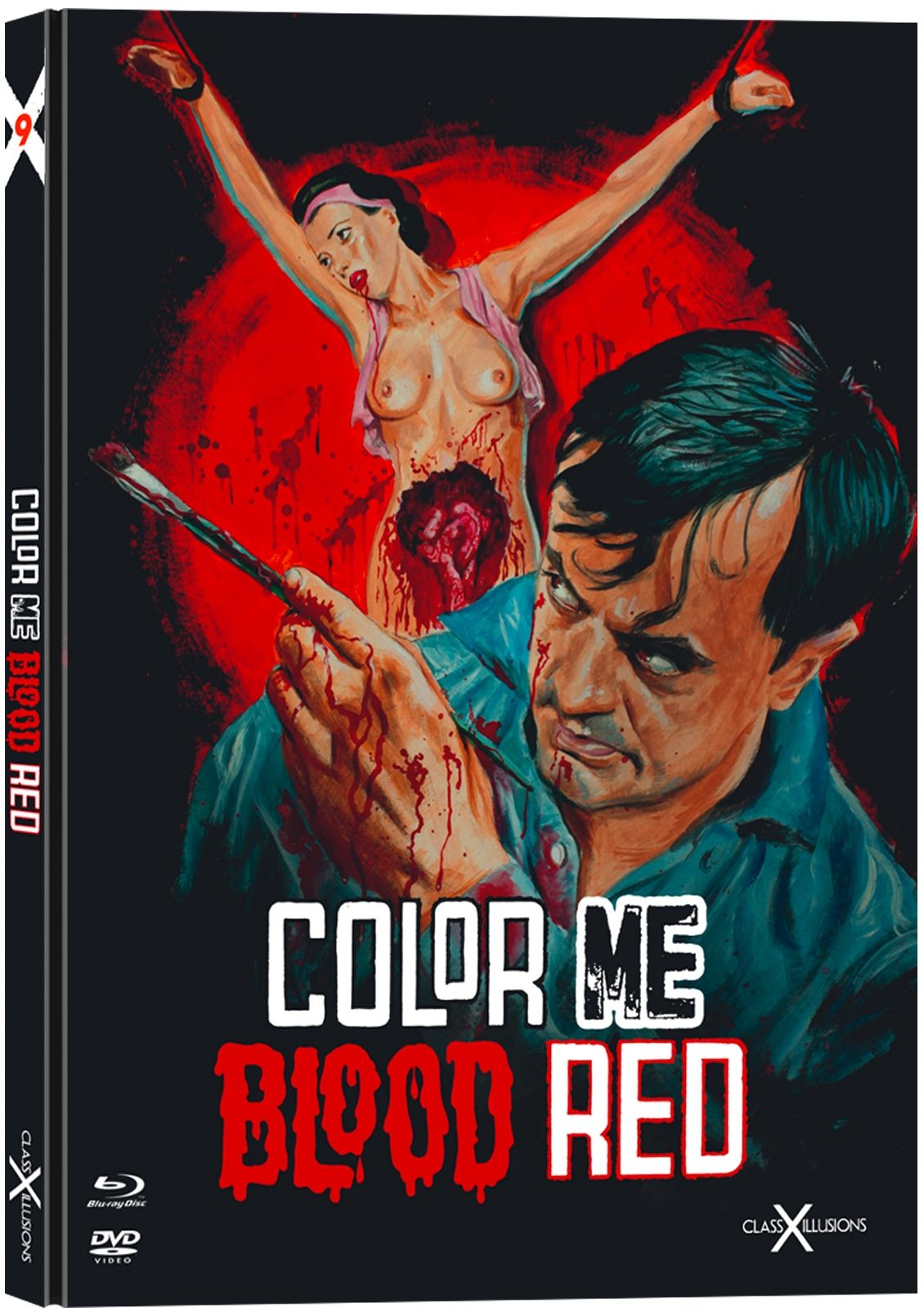 Color Me Blood Red (Lim. Uncut Mediabook) (DVD + BLURAY)