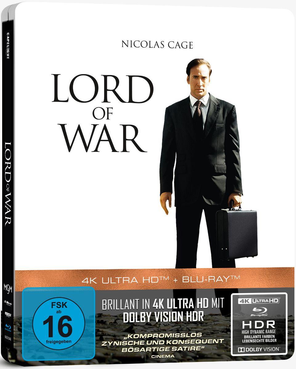 Lord of War - Händler des Todes (Lim. Steelbook) (UHD BLURAY + BLURAY)
