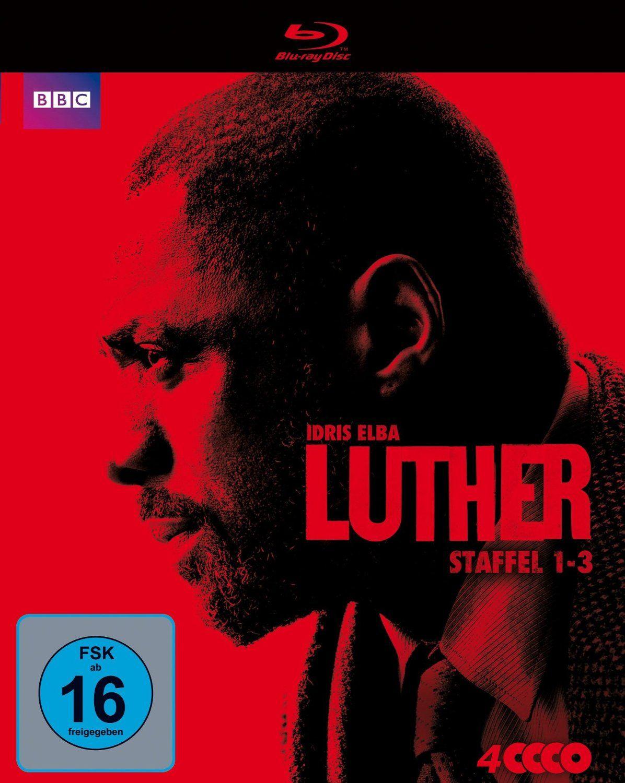 Luther - Staffel 1-3 (4 Discs) (BLURAY)