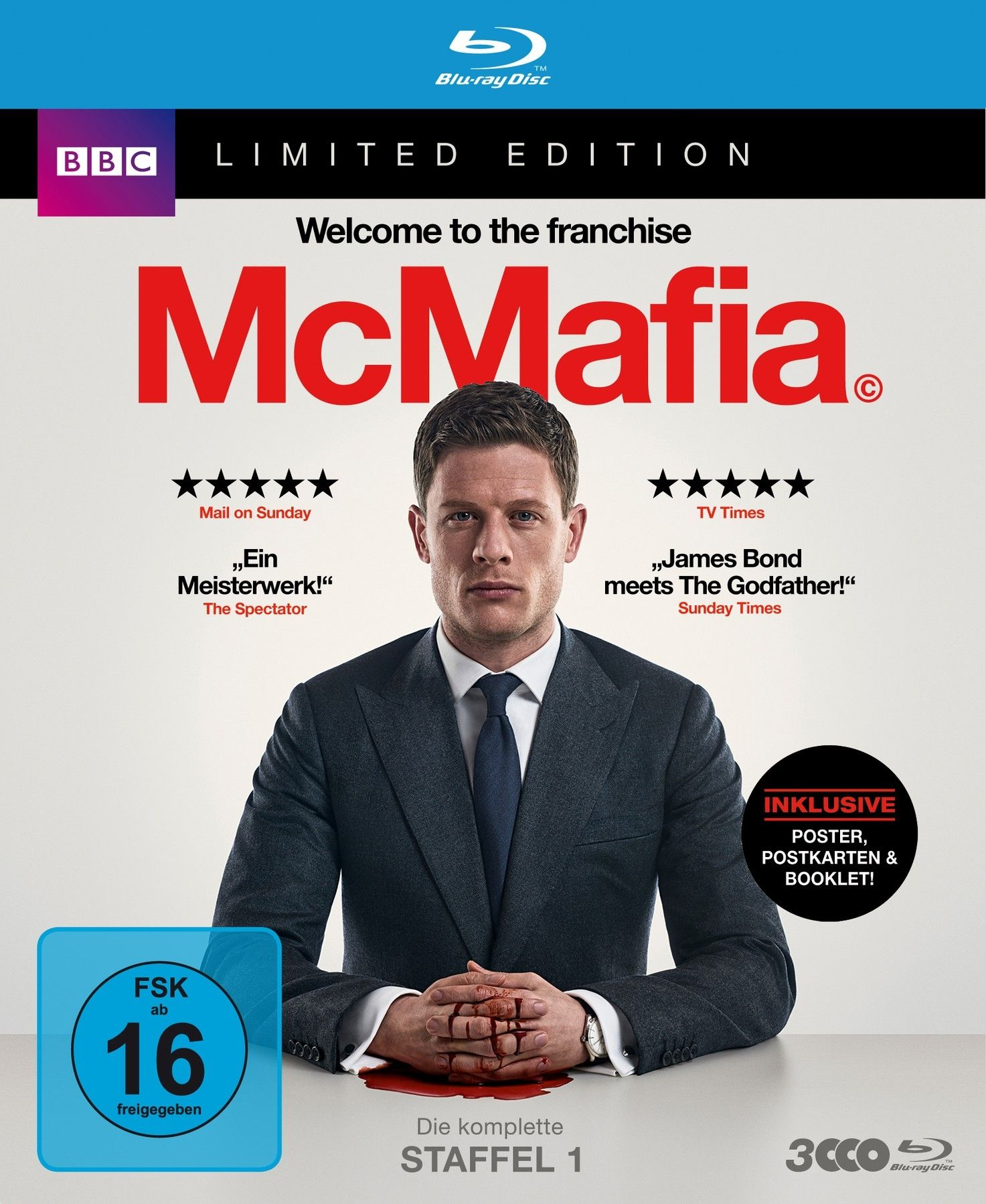 McMafia - Staffel 1 (Lim. Edition) (3 Discs) (BLURAY)