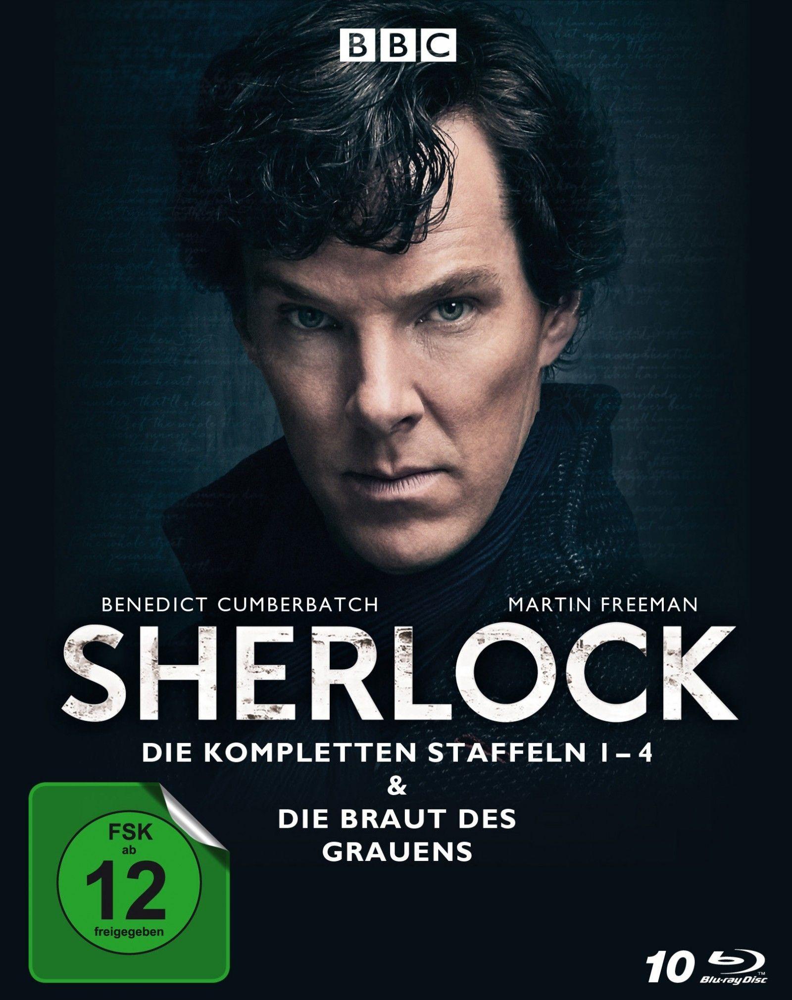 Sherlock - Die komplette Serie (10 Discs) (BLURAY)