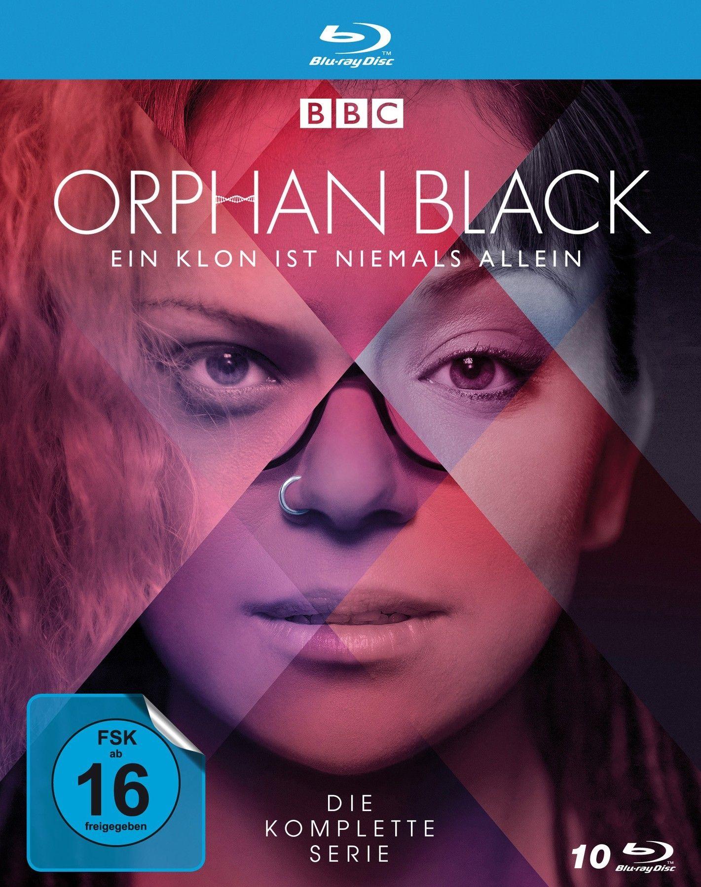 Orphan Black - Ein Klon ist niemals allein - Die komplette Serie (10 Discs) (BLURAY)