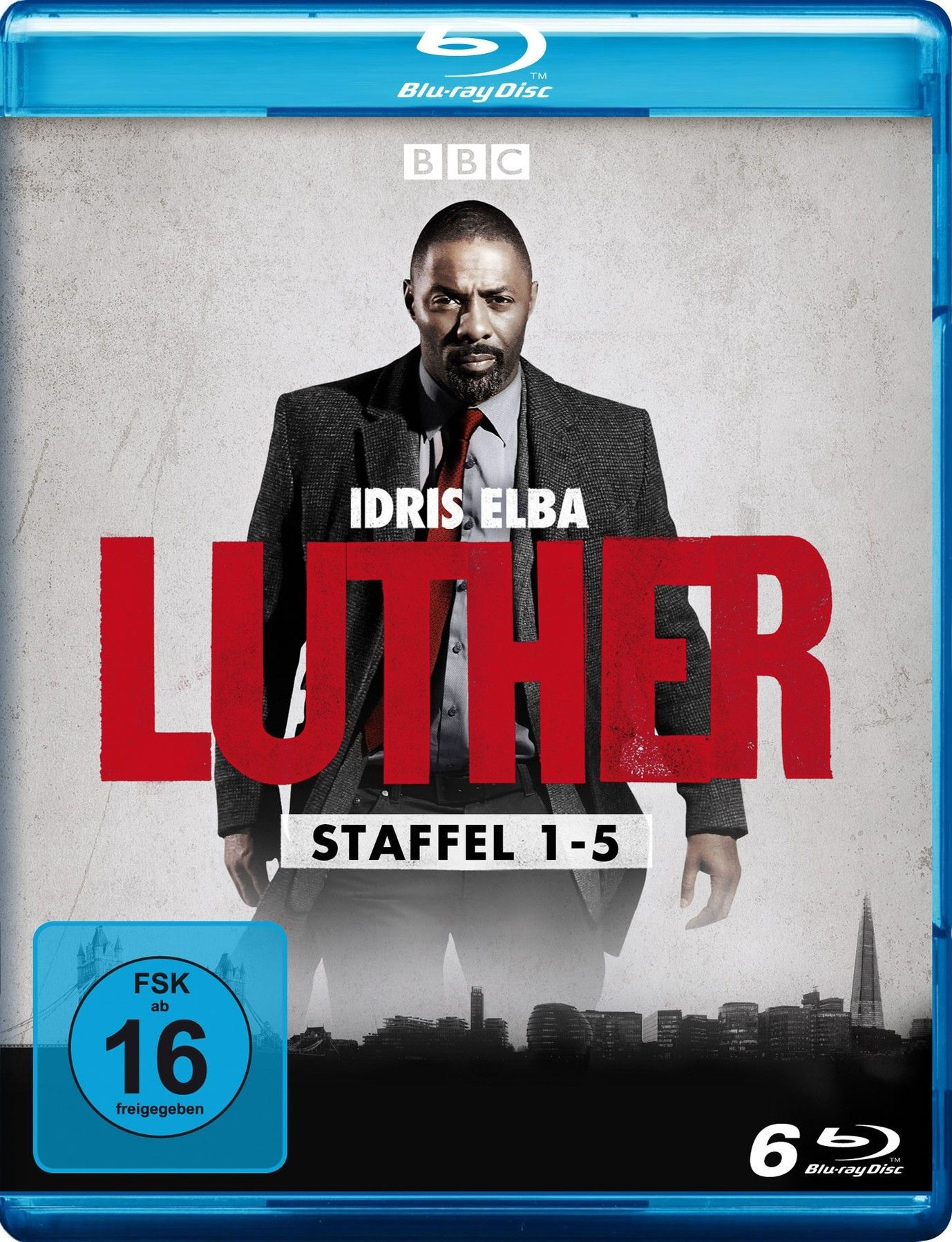 Luther - Die komplette Serie (6 Discs) (BLURAY)
