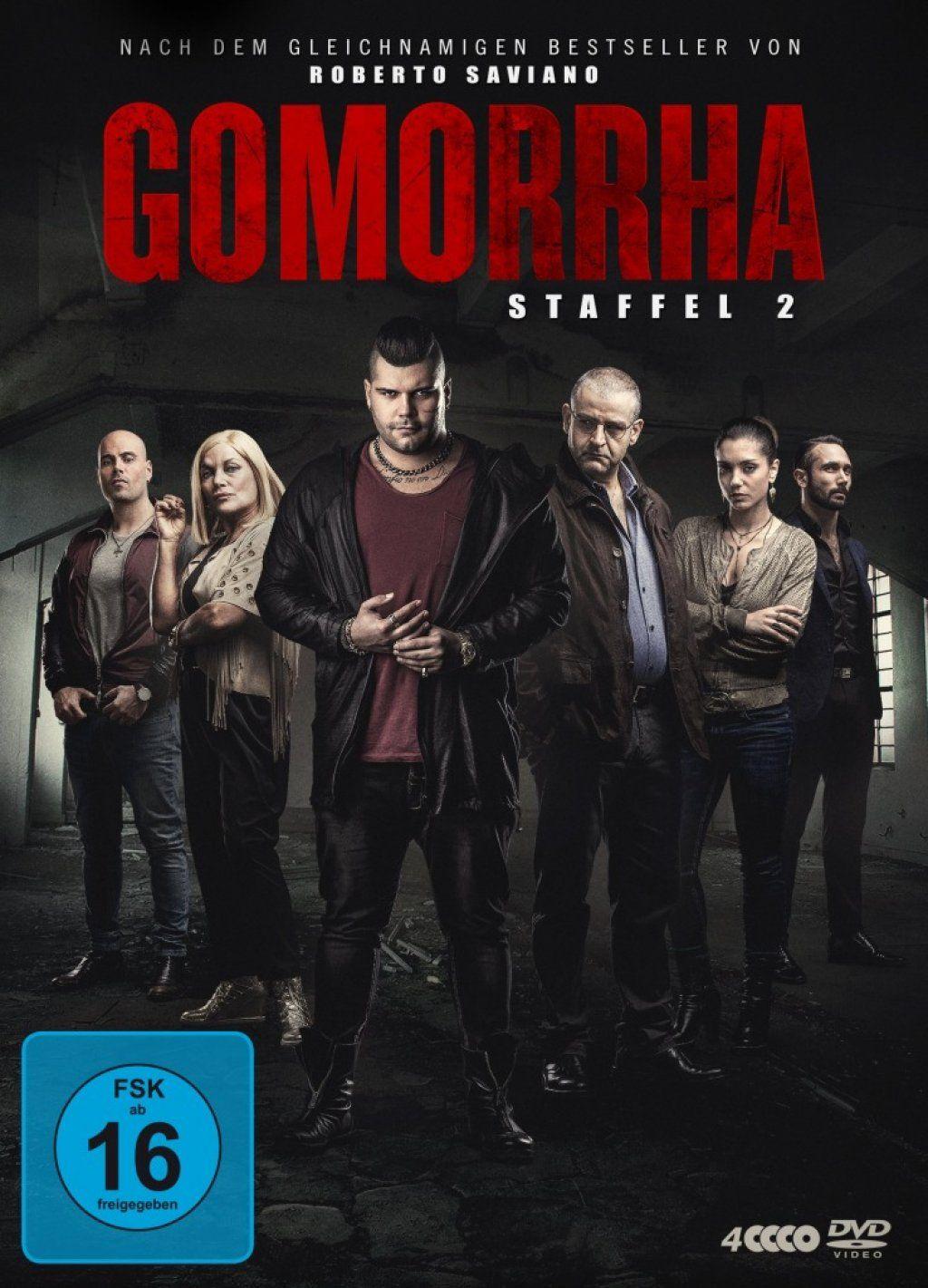Gomorrha - Staffel 2 (4 Discs)