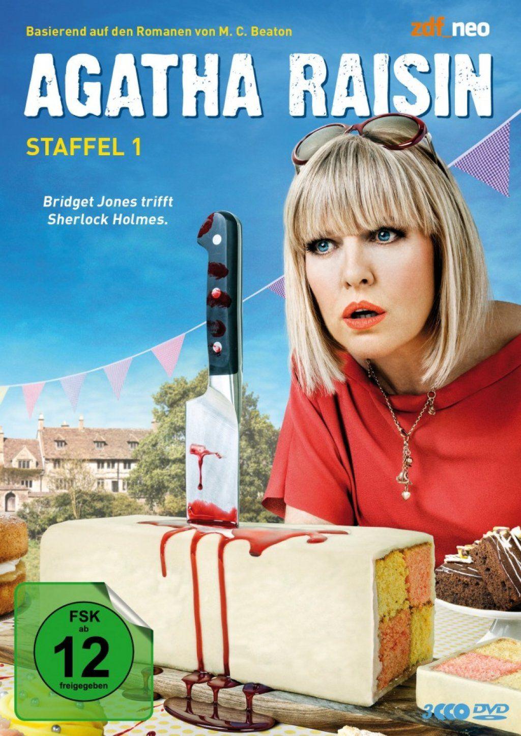 Agatha Raisin - Staffel 1 (3 Discs)