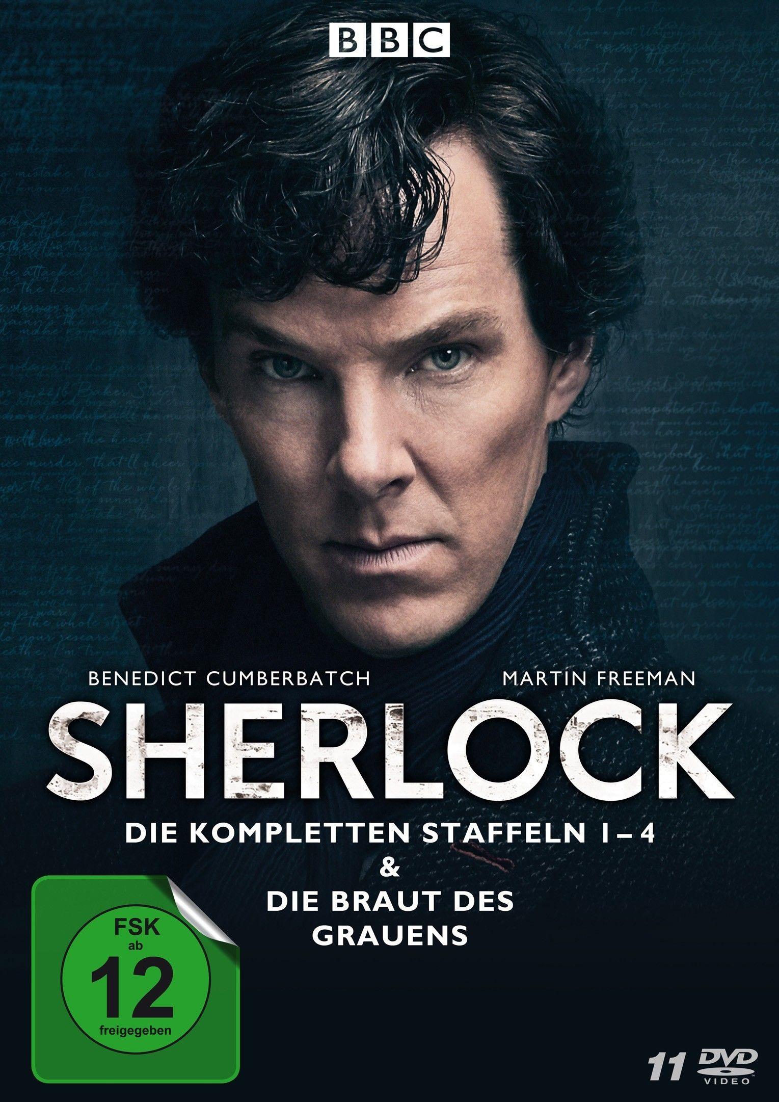 Sherlock - Die komplette Serie (11 Discs)