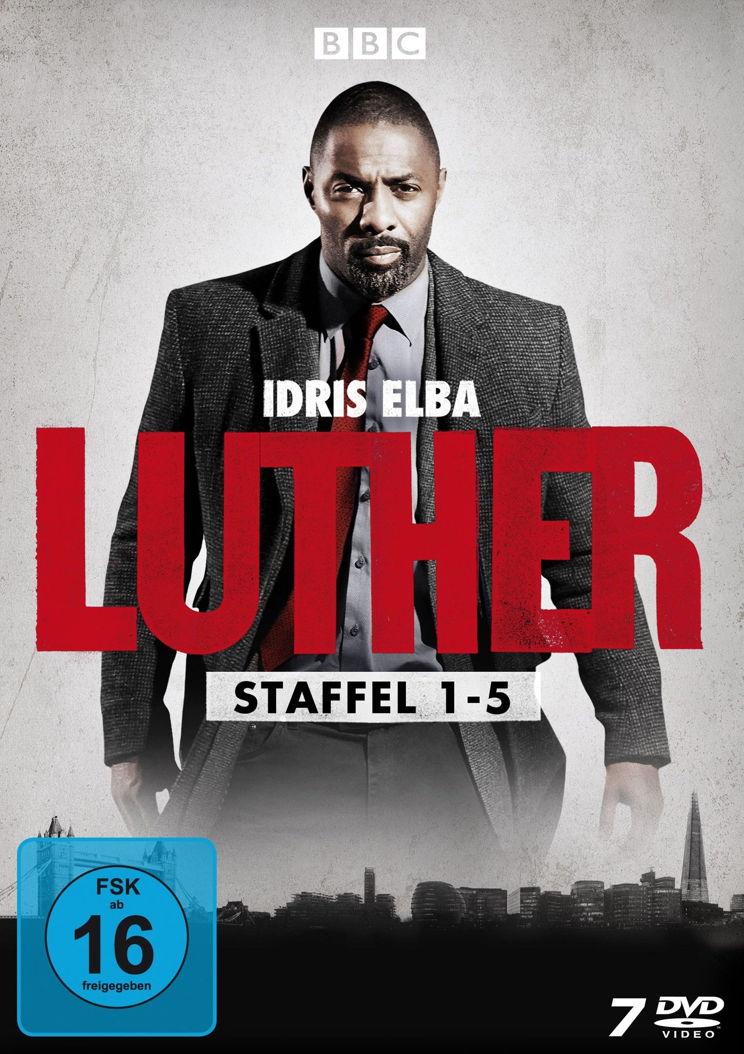Luther - Die komplette Serie (7 Discs)