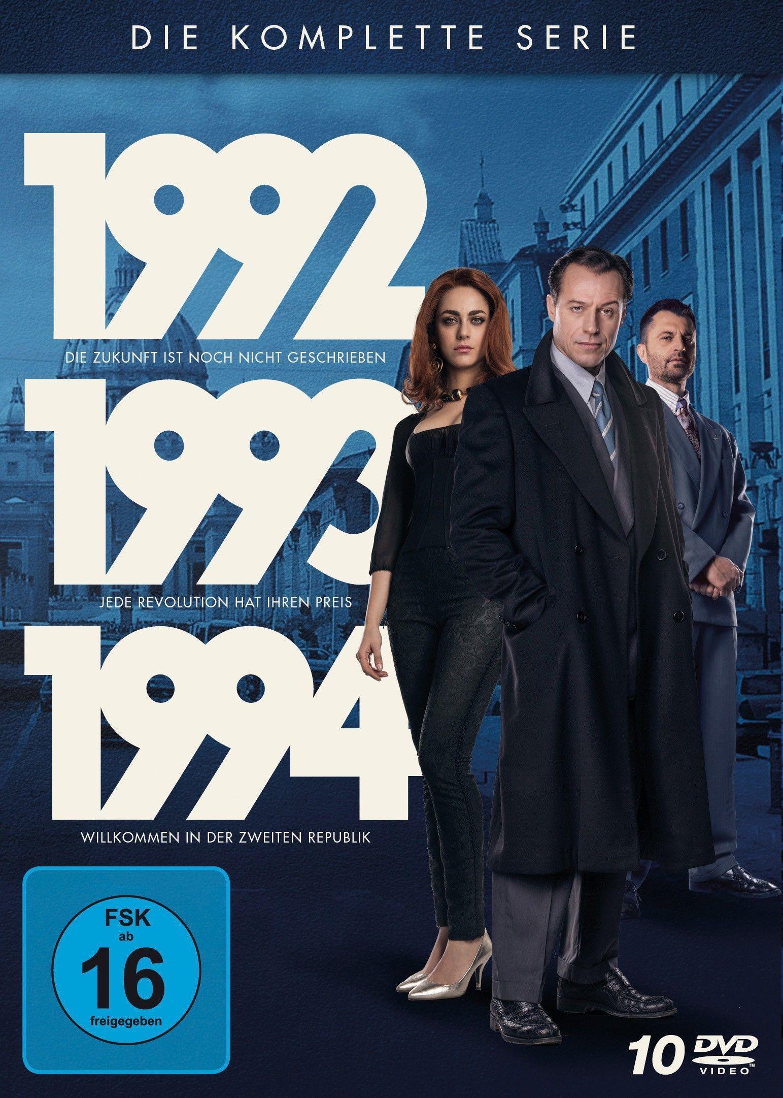 1992-1993-1994 - Die komplette Serie (10 Discs)