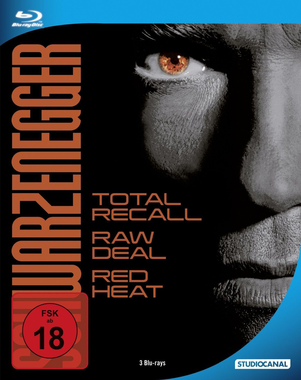 Arnold Schwarzenegger Steel Edition (Steelbook) (3 Discs) (BLURAY)