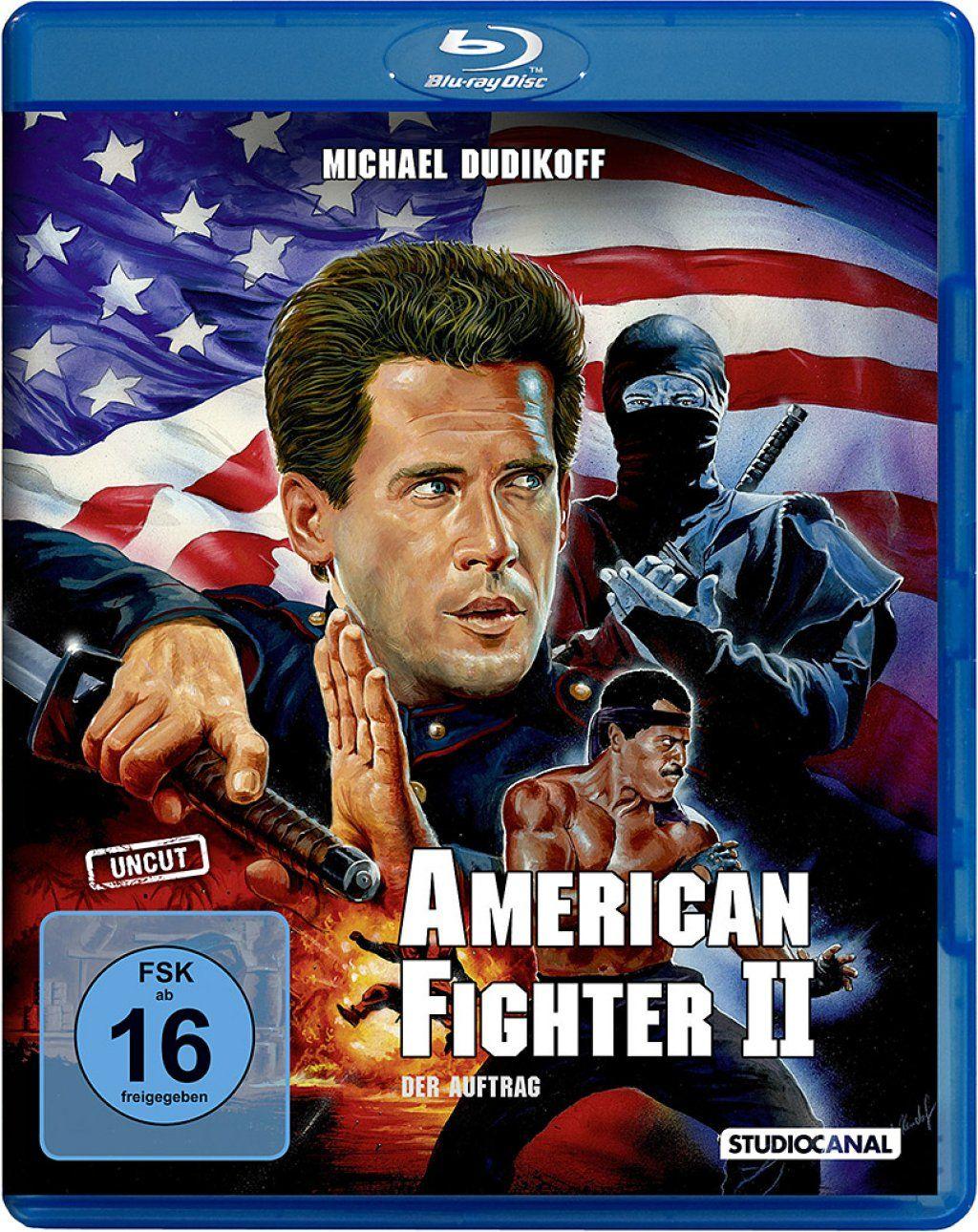 American Fighter 2: Der Auftrag (Uncut) (BLURAY)