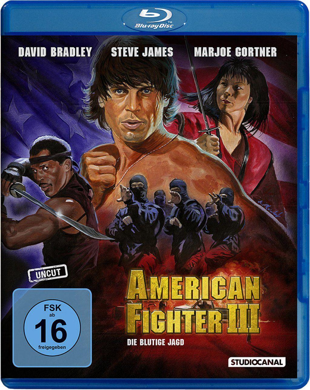 American Fighter 3: Die blutige Jagd (Uncut) (BLURAY)