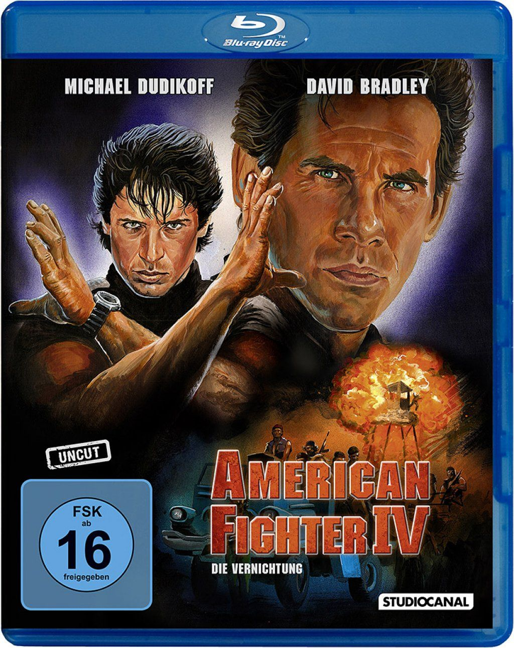 American Fighter 4: Die Vernichtung (Uncut) (BLURAY)