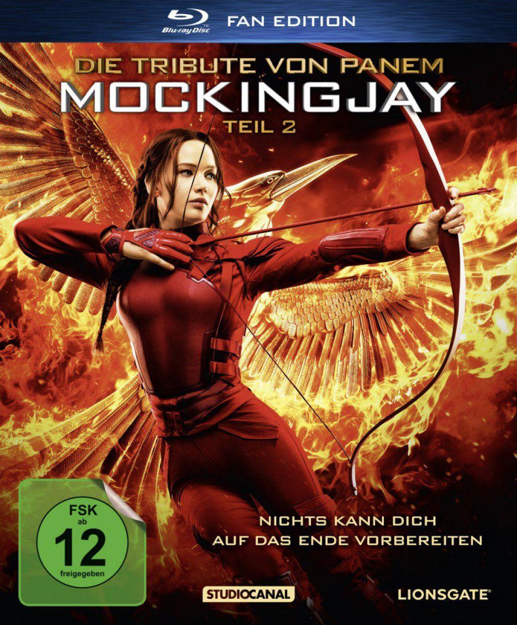Tribute von Panem, Die - Mockingjay - Teil 2 (Fan Edition) (BLURAY)