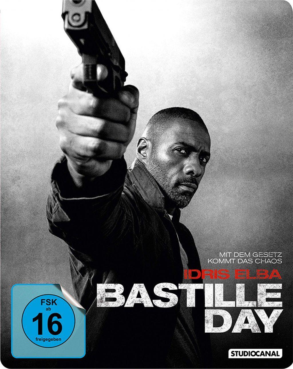 Bastille Day - Mit dem Gesetz kommt das Chaos (Lim. Steelbook) (BLURAY)