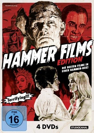 Hammer Film Edition (4 Discs)