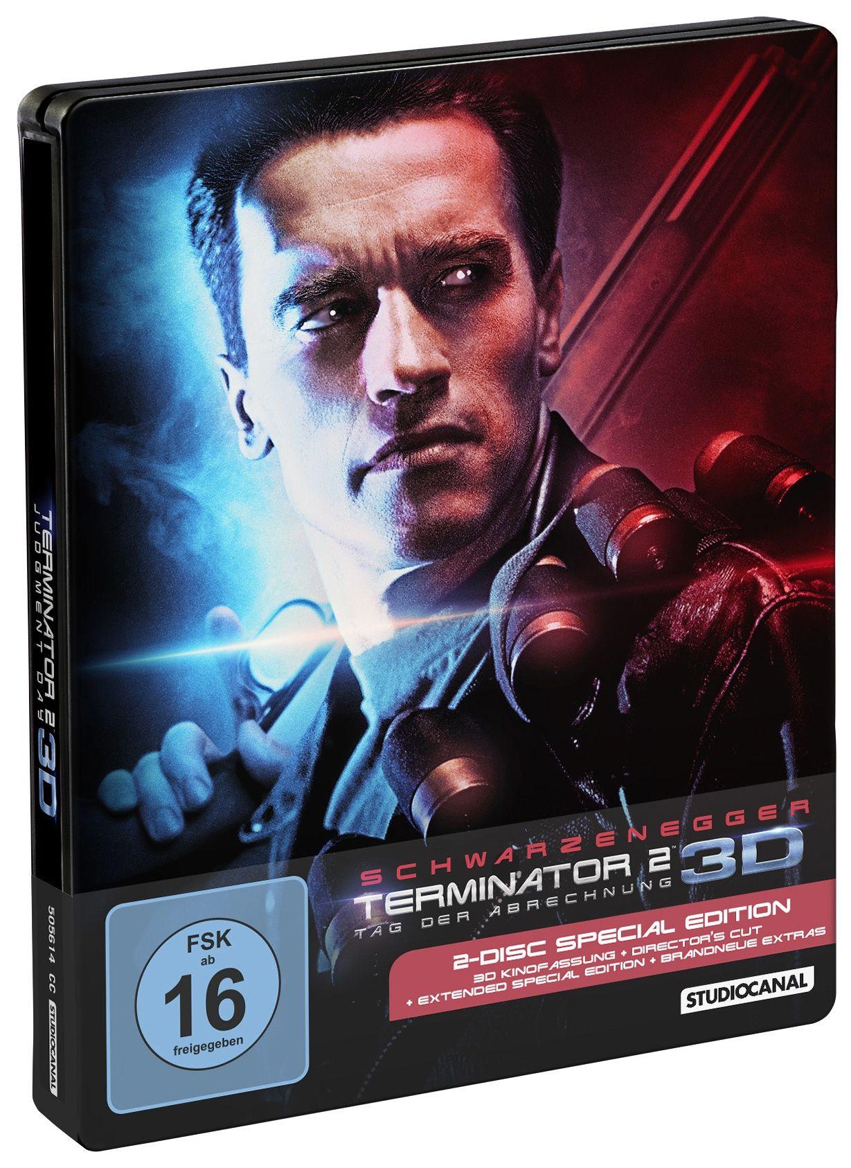 Terminator 2 - Tag der Abrechnung 3D (Lim. Steelbook) (2 Discs) (BLURAY + BLURAY 3D)