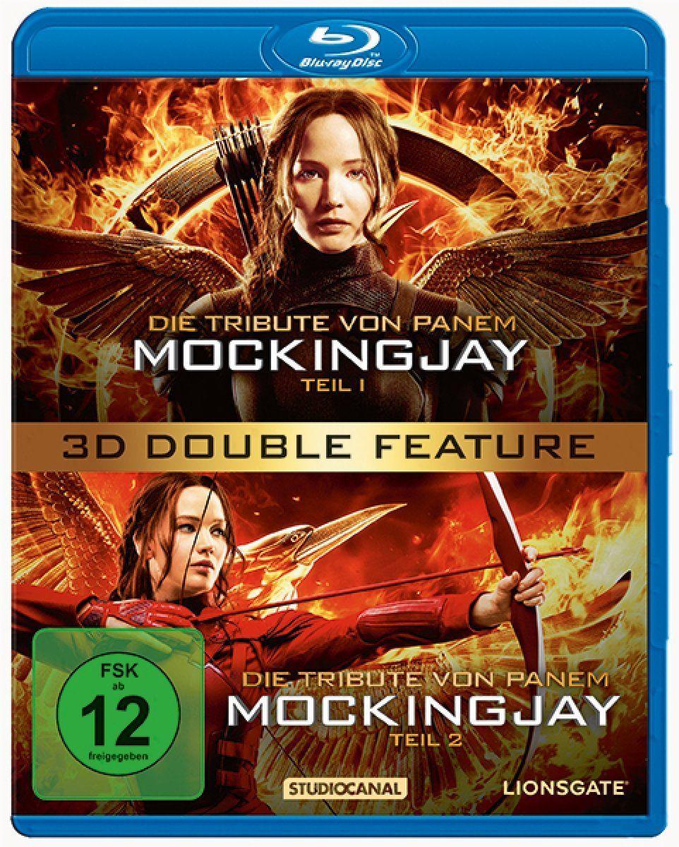 Tribute von Panem, Die - Mockingjay - Teil 1 + 2 (2 Discs) (BLURAY 3D)