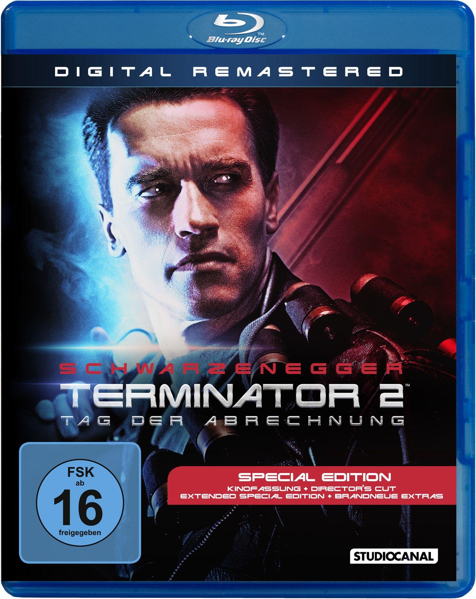 Terminator 2 - Tag der Abrechnung (Digital Remastered) (BLURAY)