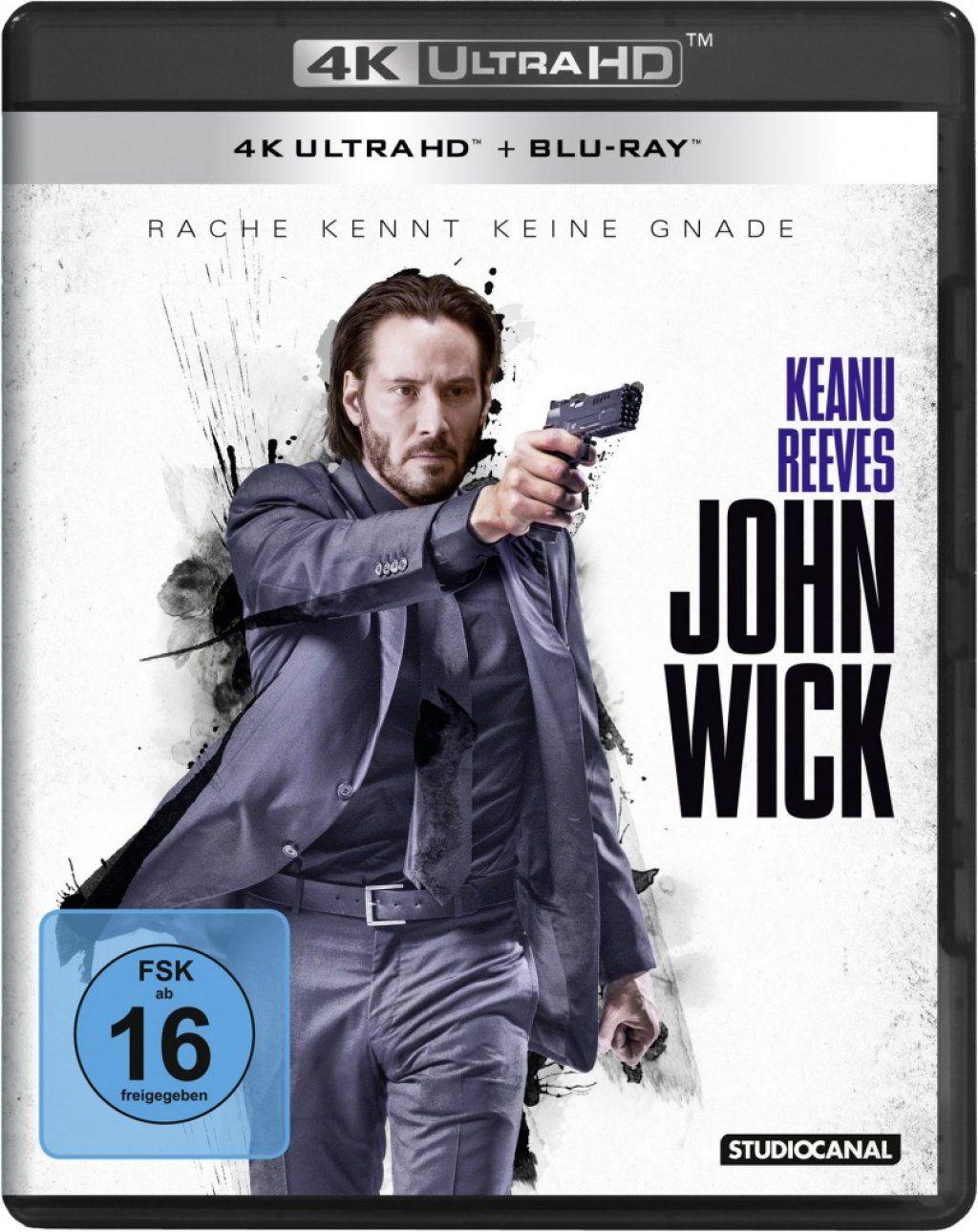 John Wick (2 Discs) (UHD BLURAY + BLURAY)