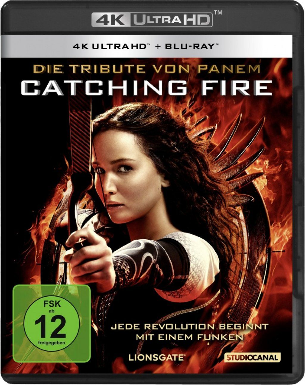 Tribute von Panem, Die - Catching Fire (2 Discs) (UHD BLURAY + BLURAY)