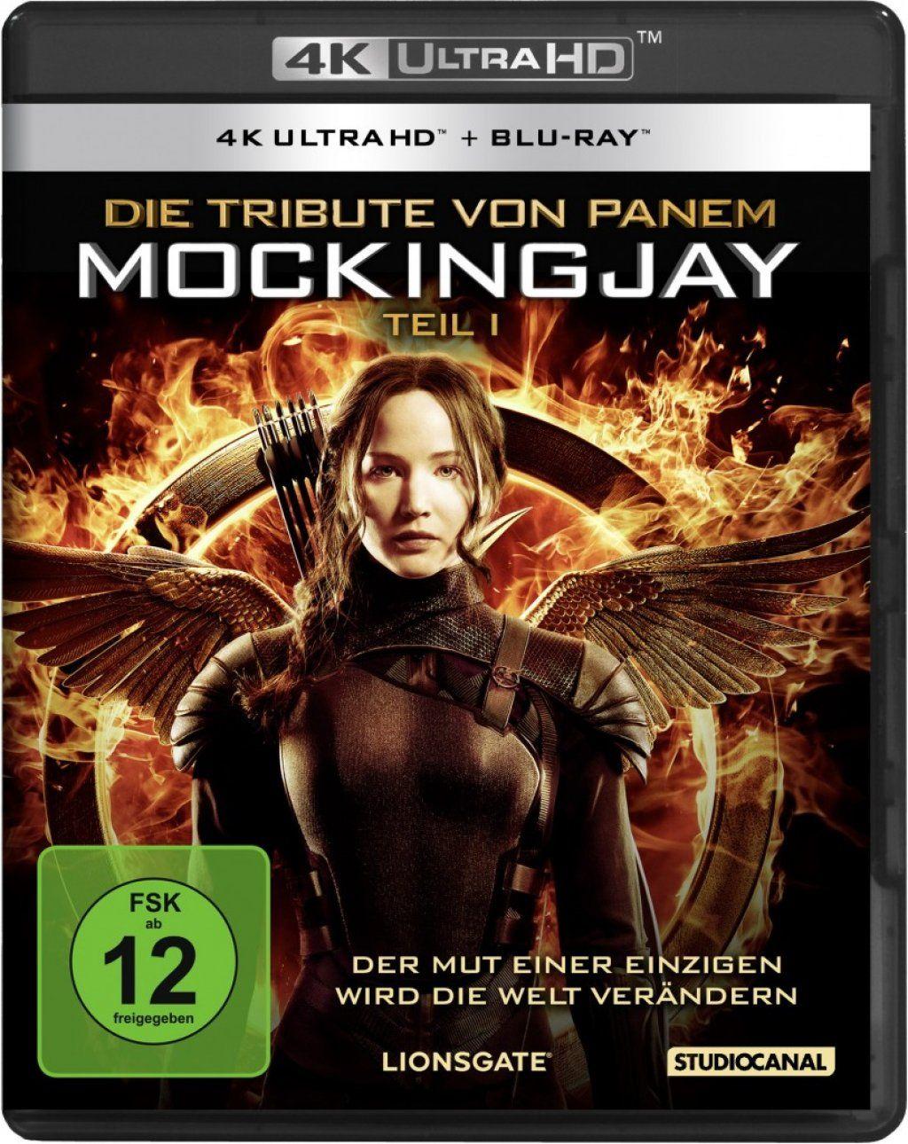 Tribute von Panem, Die - Mockingjay - Teil 1 (2 Discs) (UHD BLURAY + BLURAY)