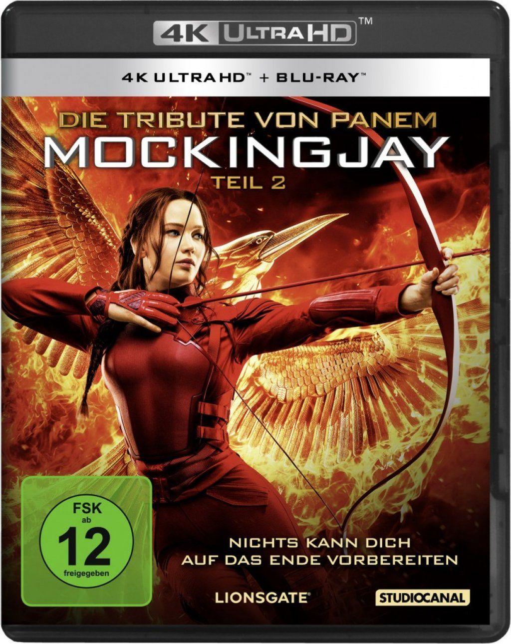 Tribute von Panem, Die - Mockingjay - Teil 2 (2 Discs) (UHD BLURAY + BLURAY)