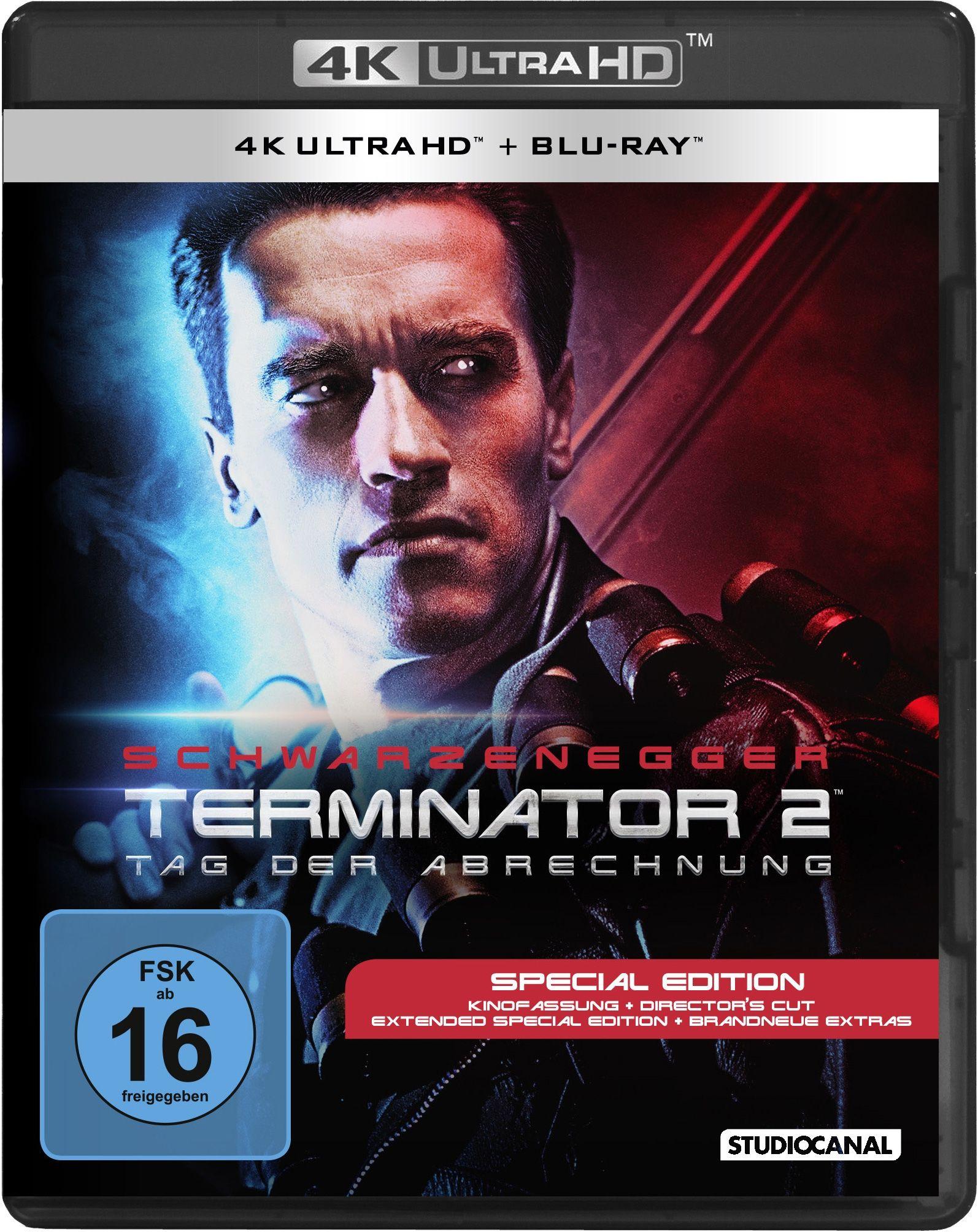 Terminator 2 - Tag der Abrechnung (2 Discs) (UHD BLURAY + BLURAY)