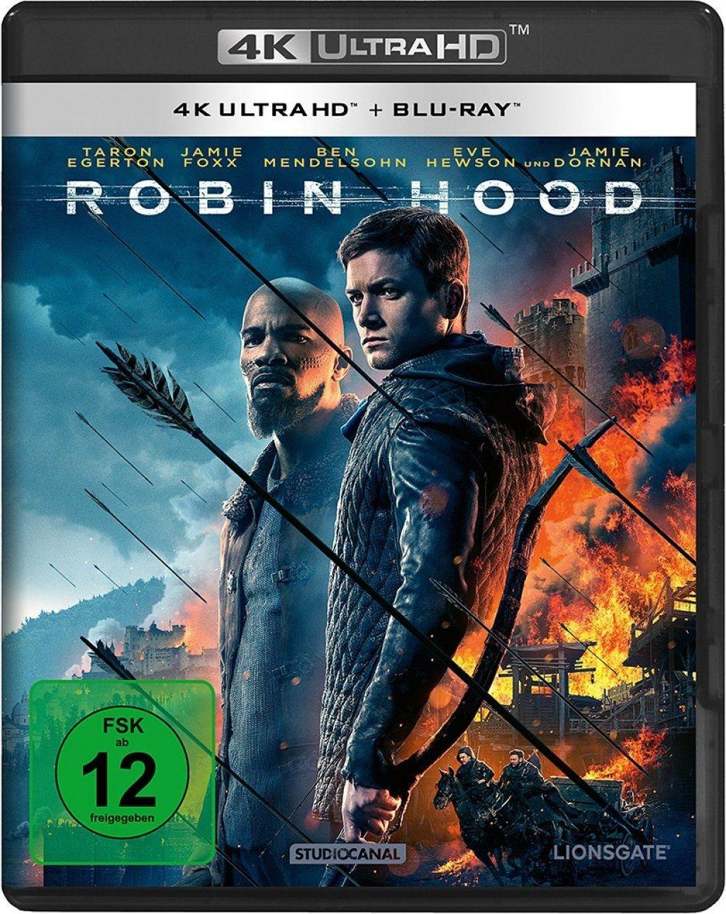 Robin Hood (2018) (2 Discs) (UHD BLURAY + BLURAY)