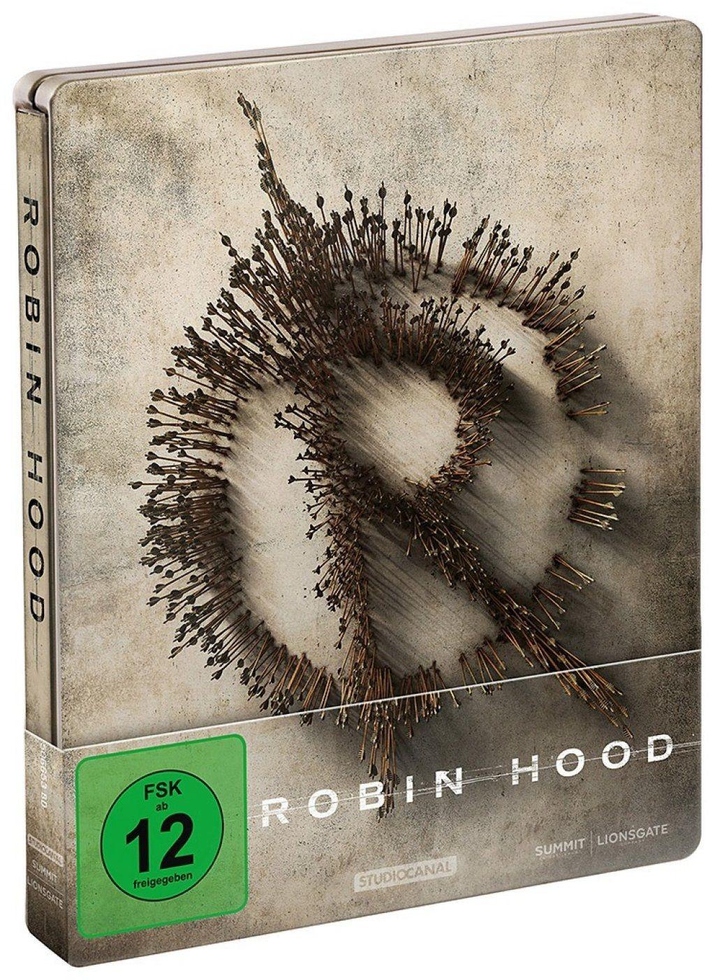 Robin Hood (2018) (Lim. Steelbook) (BLURAY)