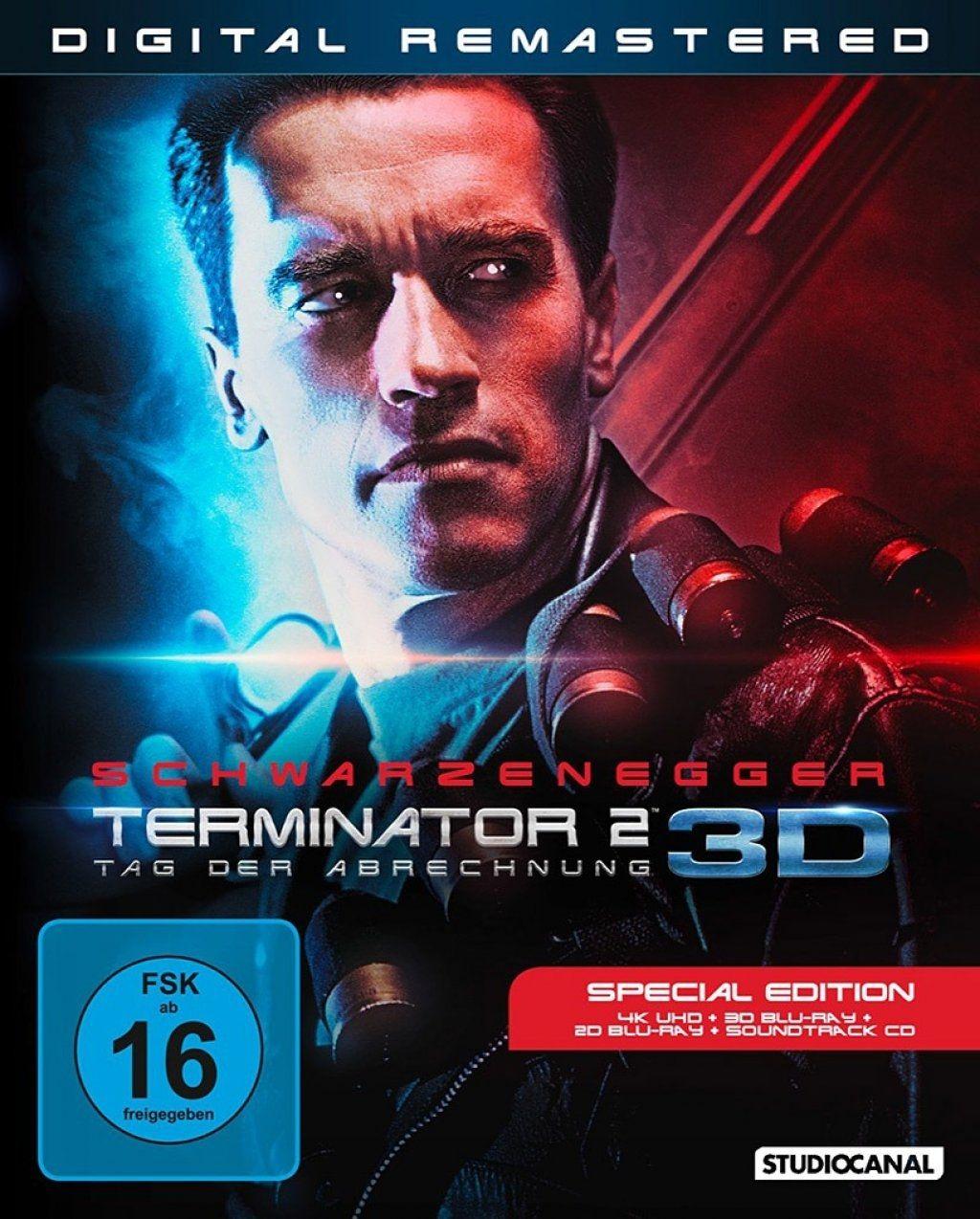 Terminator 2 - Tag der Abrechnung (4 Discs) (UHD BLURAY + BLURAY + BLURAY 3D)